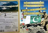 Pakistan Army Officer summits Africa's Top Two Peaks