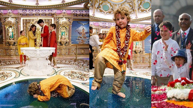 Little Hadrien Trudeau Goes to India