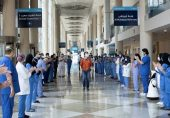 Dubai closes only field hospital, welcomes tourists